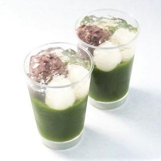 【夏季限定】白玉入り生茶ゼリー