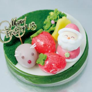 【12月22日~25日受取限定】抹茶deクリスマス